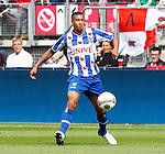Nederland, Alkmaar, 26 augustus 2012.Eredivisie.Seizoen 2012-2013.AZ-SC Heerenveen.Gianni Zuiverloon van SC Heerenveen