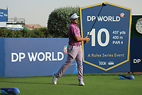 Ian Poulter (ENG) in action during previews ahead of the DP World Championship, Earth Course, Jumeirah Golf Estates, Dubai, UAE. 19/11/2019<br /> Picture: Golffile | Phil INGLIS<br /> <br /> <br /> All photo usage must carry mandatory copyright credit (© Golffile | Phil INGLIS)