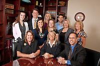 April 13, 2012.  Lasky Law Firm group portrait
