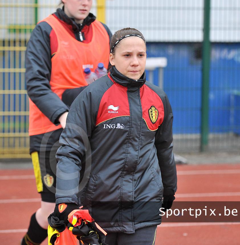 France U19 - Belgium U19 : Taika De Koker.foto DAVID CATRY / Nikonpro.be