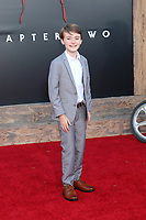 """LOS ANGELES - AUG 26:  Jackson Robert Scott at the """"It Chapter Two"""" Premiere at the Village Theater on August 26, 2019 in Westwood, CA"""