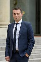 Paris (75),Le President de la Republique, Franeois HOLLANDE, recoit samedi 25 juin 2016 les representants des partis politiques francais au Palais de l Elysee. Front National Florian PHILIPPOT