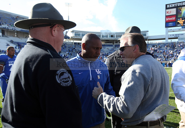 in the second half of UK's win over Charleston Southern on  Saturday, Nov. 6, 2010. Photo by Britney McIntosh | Staff