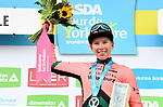 Lorena Wiebes (NED) Parkhotel Valkenburg wins Stage 1 of the 2019 ASDA Tour de Yorkshire Women's Race, running 132km from Barnsley to Bedale, Yorkshire, England.  3rd May 2019.<br /> Picture: ASO/SWPix | Cyclefile<br /> <br /> All photos usage must carry mandatory copyright credit (© Cyclefile | ASO/SWPix)