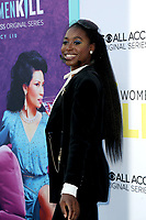 """LOS ANGELES - AUG 7:  Kirby Howell-Baptiste at the """"Why Women Kill"""" Premiere at the Wallis Annenberg Center on August 7, 2019 in Beverly Hills, CA"""