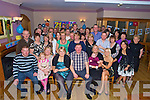 Rachel Collette, Pinewood Estate, Killarney, pictured with her parenst Eileen and Richard, Susan and Aoibhe Bartlett, Daniel and Louise Collette, family and friends as she celebrated her 21st birthday in the Heights Hotel, Killarney on Saturday night..