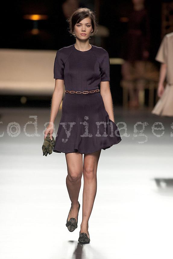 Juanjo Oliva at Mercedes-Benz Fashion Week Madrid 2013