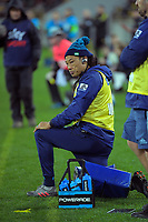Blues assistant coach Tana Umaga during the Super Rugby Aotearoa match between the Hurricanes and Blues at Sky Stadium in Wellington, New Zealand on Saturday, 18 July 2020. Photo: Dave Lintott / lintottphoto.co.nz