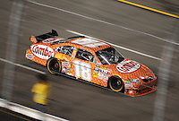 May 2, 2009; Richmond, VA, USA; NASCAR Sprint Cup Series driver Kyle Busch during the Russ Friedman 400 at the Richmond International Raceway. Mandatory Credit: Mark J. Rebilas-