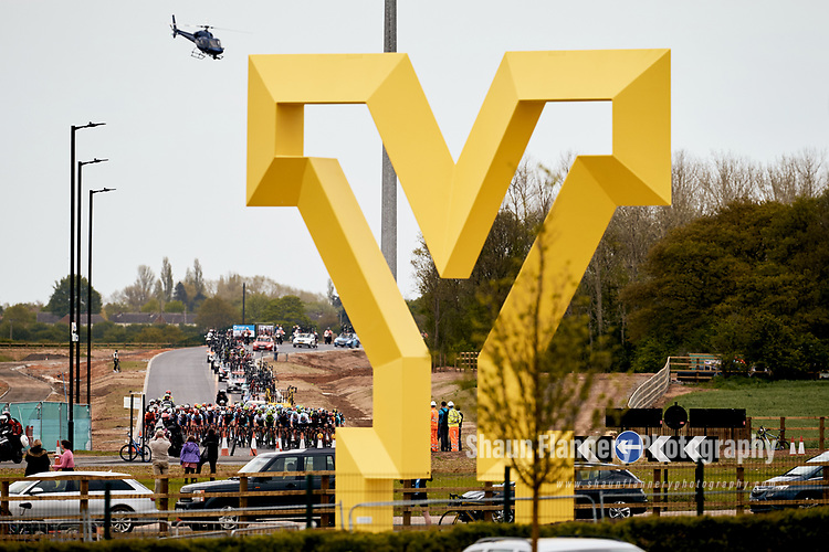 Picture by Shaun Flannery/SWpix.com - 03/05/2018 - Cycling - 2018 Tour de Yorkshire - Stage 1: Beverley - Doncaster - Yorkshire, England<br /> <br /> Doncaster Y