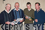 DAIRY: At the Seminar on Breeding Better Dairy Replacement Stock in the Killarney Heights Hotel  were, l-r: Donal Counihan, Faha, Michael Dennehy, Beaufort, John Meehan, Tralee, and John OShea, Faha..