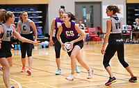 13.12.2017 Bailey Mes in action during traning at the Silver Ferns trails in Auckland. Mandatory Photo Credit ©Michael Bradley.