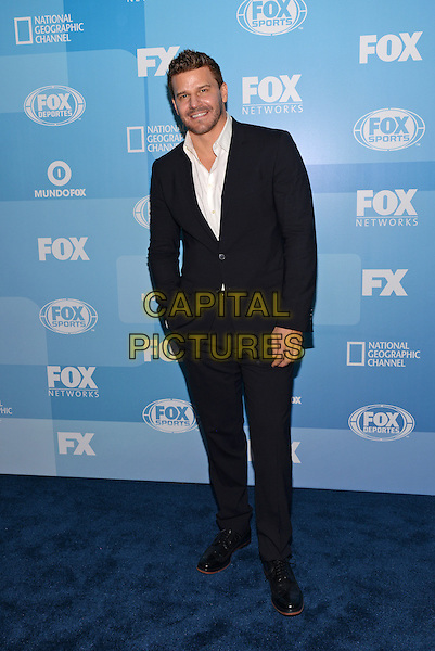 NEW YORK - MAY 11: Actor David Boreanaz arrives at the 2015 FOX Programming Presentation Post Party at the Wollman Rink in Central Park on May 11, 2015 in New York City. <br /> CAP/MPI/PGCS<br /> &copy;PGCS/MPI/Capital Pictures