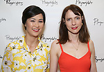 Cindy Cheung and Dolly Wells attends the Opening Night Performance After Party for the Playwrights Horizons world premiere production of 'Log Cabin' on June 25, 2018 at Playwrights Horizons in New York City.