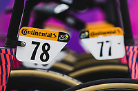 EF Pro Cycling bikes race ready<br /> <br />  Stage 9 from Pau to Laruns 153km<br /> 107th Tour de France 2020 (2.UWT)<br /> (the 'postponed edition' held in september)<br /> ©kramon