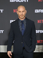 WESTWOOD, CA - DECEMBER 13: Matt Gerald, at Premiere Of Netflix's 'Bright' at The Regency Village Theatre, In Hollywood, California on December 13, 2017. Credit: Faye Sadou/MediaPunch /NortePhoto.com NORTEPHOTOMEXICO