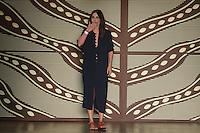SÃO PAULO, SP, 25.04.2016 - DESFILE-SPFW - Desfile da grife Lilly Sarti durante São Paulo Fashion Week verão 2017 na Bienal do Ibirapuera nesta segunda-feira, 25. (Foto: Vanessa Carvalho/Brazil Photo Press)
