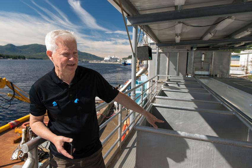 Brad Wilkins, General Manager at Alaska General Seafoods. Ketchikan Alaska.  2017