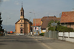 Driving from Breisach, Germany to Alsace, France, 2014
