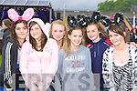 Girls just want to have fun at the Pussycat Dolls Concert in Fitzgerald Stadium Killarney on Saturday l-r: Melissa Kiely Causeway, Shauna Henchy New York, Adrianne McEllistrim Castleisland, Aisling Finnucane Tarbert, Molly Buckley Ballybunion and Elaine Doody Castleisland