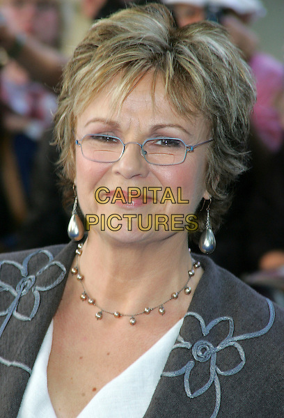 "JULIE WALTERS .""Mamma Mia!"" world film premiere Odeon Cinema, Leicester Square, London, England 30th June 2008. .arrivals portrait headshot glasses necklace earrings .CAP/ROS.©Steve Ross/Capital Pictures"