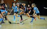 Almere - Zaalhockey  Amsterdam-HGC (v) . Noor de Baat (A'dam)  TopsportCentrum Almere.    COPYRIGHT KOEN SUYK