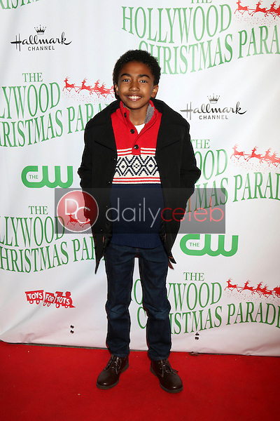 Miles Brown<br /> at the 85th Annual Hollywood Christmas Parade, Hollywood Boulevard, Hollywood, CA 11-27-16<br /> David Edwards/DailyCeleb.com 818-249-4998
