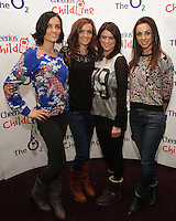 20/11/13<br /> B*witched (L-R) Sisters Keavy and Edele Lynch, Sineead O&rsquo;Carroll and Lindsay Armaou who will be performing Cheerios Childline Concert at the O2 Dublin this evening&hellip;.<br /> Pic Collins Photos