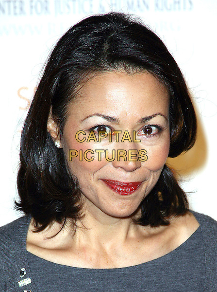 ANN CURRY .The Robert F. Kennedy Center for Justice & Human Rights Ripple of Hope awards dinner at Chelsea Piers, New York City, NY, USA, .17th November 2010..portrait headshot smiling make-up red lipstick grey gray.CAP/ADM/PZ.©Paul Zimmerman/AdMedia/Capital Pictures.