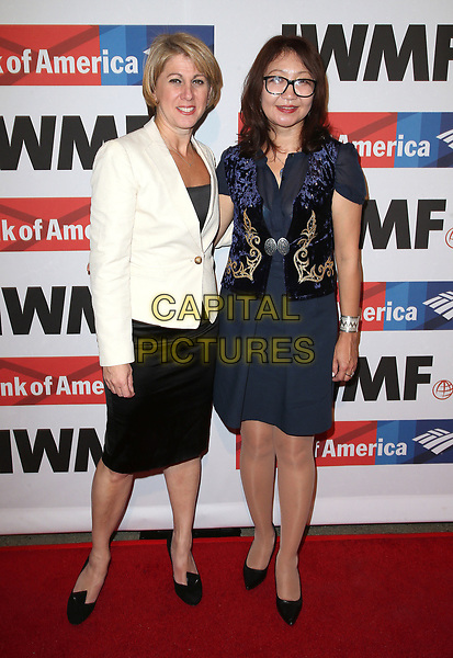 25 October 2017 - Hollywood, California - Sharon Waxman, Saniya Toiken. International Women's Media Foundation 2017 Courage in Journalism Awards. <br /> CAP/ADM/FS<br /> &copy;FS/ADM/Capital Pictures