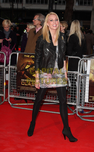 CAMILLA DALLERUP.World Premiere of 'Clash of the Titans' at the Empire cinema, Leicester Square, London, England, March 29th 2010..arrival full length black jacket leather  tights silver dress ankle boots .CAP/ROS.©Steve Ross/Capital Pictures