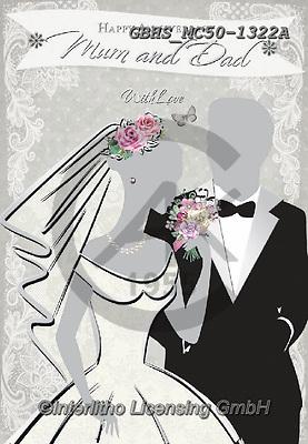 John, WEDDING, HOCHZEIT, BODA, paintings+++++,GBHSMC50-1322A,#W#, EVERYDAY