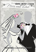 John, WEDDING, HOCHZEIT, BODA, paintings+++++,GBHSMC50-1322A,#W#, EVERYDAY