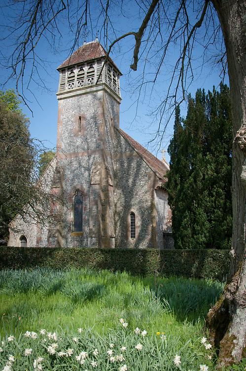 All Saints Church, Hinton Ampner, Hampshire.