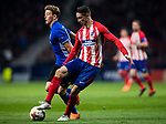Fernando Torres (R) of Atletico de Madrid competes for the ball with Nicolaj Thomsen of FC Copenhague during the UEFA Europa League 2017-18 Round of 32 (2nd leg) match between Atletico de Madrid and FC Copenhague at Wanda Metropolitano  on February 22 2018 in Madrid, Spain. Photo by Diego Souto / Power Sport Images