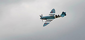 Supermarine Spitfire at the Farnborough International Airshow .