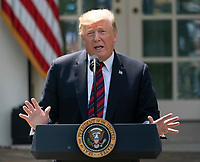 MAY 16 President Donald J. Trump makes remarks on modernizing our immigration system for a st