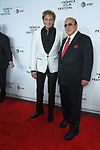 "Barry Manilow (left) and Clive Davis, arrive at the Clive Davis: ""The Soundtrack Of Our Lives"" world premiere for the Opening Night of the 2017 TriBeCa Film Festival on April 19, 2017 at Radio City Music Hall."