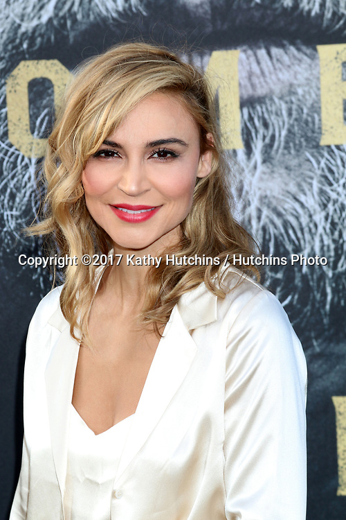"""LOS ANGELES - MAY 8:  Samaire Armstrong at the """"King Arthur Legend of the Sword"""" World Premiere on the TCL Chinese Theater IMAX on May 8, 2017 in Los Angeles, CA"""