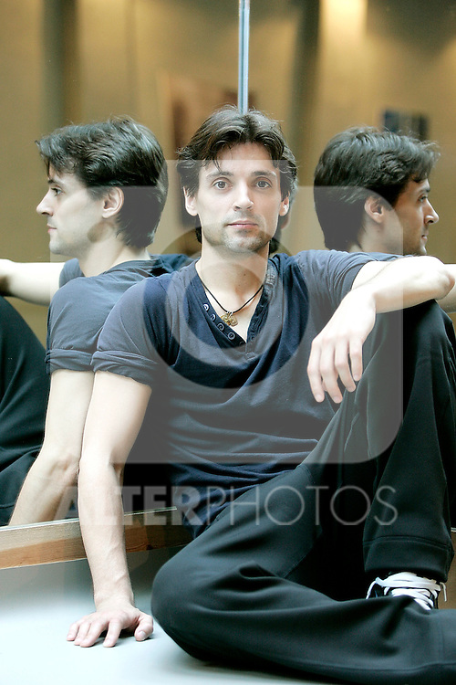 Dancer and coreogapher Angel Corella at his studio, April, 25, 2008. (ALTERPHOTOS/Alvaro Hernandez).