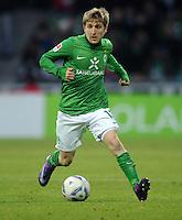 FUSSBALL   1. BUNDESLIGA   SAISON 2011/2012   21. SPIELTAG Werder Bremen - 1899 Hoffenheim                        11.02.2012 Marko Marin (SV Werder Bremen) Einzelaktion am Ball