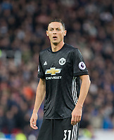 Nemanja Matic of Man Utd during the Premier League match between Stoke City and Manchester United at the Britannia Stadium, Stoke-on-Trent, England on 9 September 2017. Photo by Andy Rowland.