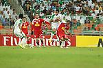 Al Ahli (KSA) vs Tractorsazi Tabriz during the 2015 AFC Champions League Group D match on March 18, 2015 at the King Abdullah Stadium in Jeddah, Saudi Arabia. Photo by Adnan Hajj / World Sport Group