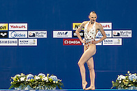 ROMASHINA Svetlana RUS<br /> Kazan Arena Synchro Sincro Solo Technical Final<br /> Day02 25/07/2015<br /> XVI FINA World Championships Aquatics Swimming<br /> Kazan Tatarstan RUS July 24 - Aug. 9 2015 <br /> Photo G.Scala/Deepbluemedia/Insidefoto