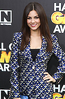 SANTA MONICA, CA, USA - FEBRUARY 15: Victoria Justice at the 4th Annual Cartoon Network Hall Of Game Awards held at Barker Hangar on February 15, 2014 in Santa Monica, California, United States. (Photo by David Acosta/Celebrity Monitor)