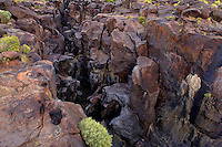 730850349 lava rocks and formations looking east over fossil falls blm protected lands inyo county california