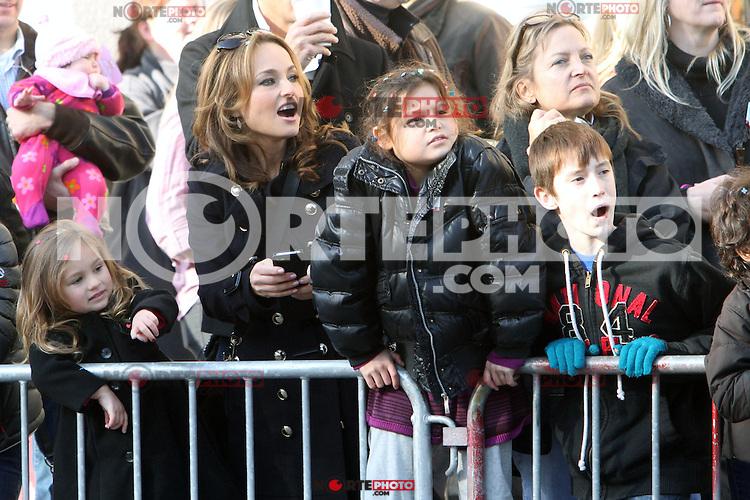 NEW YORK, NY - NOVEMBER 22: Giada De Laurentiis at the 86th Annual Macy's Thanksgiving Day Parade on November 22, 2012 in New York City. Credit: RW/MediaPunch Inc. /NortePhoto