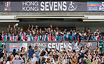 HSBC Hong Kong Rugby Sevens 2018 on 08 April 2018, in Hong Kong, Hong Kong. Photo by Yu Chun Christopher Wong / Power Sport Images