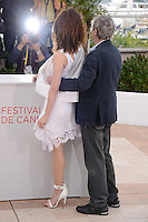"Asia Argento and Dario Argento attending the ""Dario Argento Dracula"" Photocall during the 65th annual International Cannes Film Festival in Cannes, France, 19th May 2012...Credit: Timm/face to face /MediaPunch Inc. ***FOR USA ONLY***"