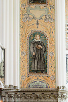 Jugendstil-Bemalung in der St.Johannes-Kirche, erbaut 1907 , Malmö, Provinz Skåne (Schonen), Schweden, Europa<br /> art deco painting in St. John church in Malmo, Sweden